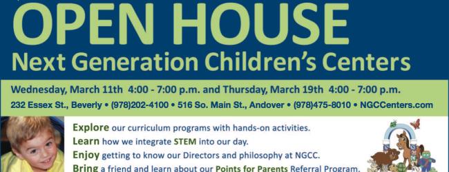 Next Generation Children's Center Open House
