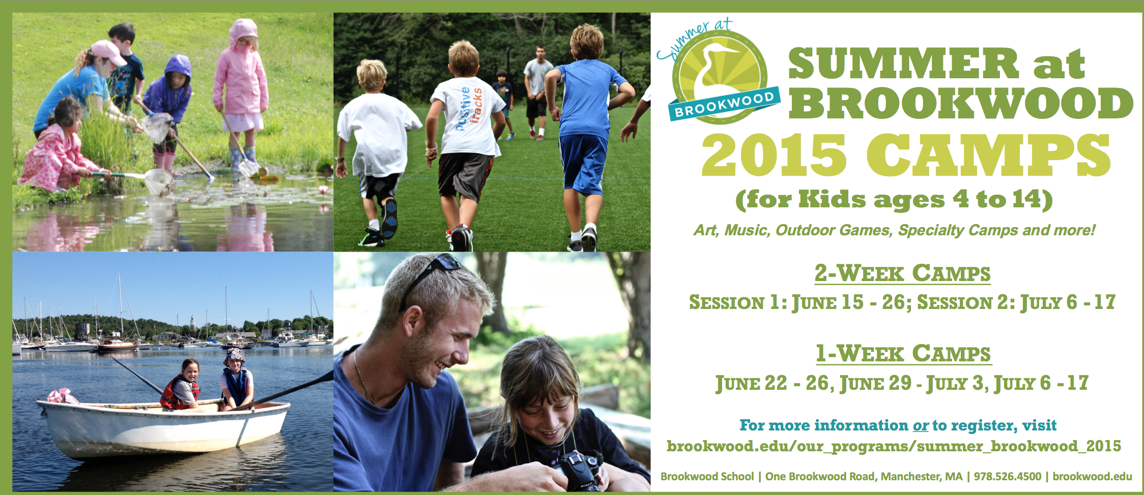 New Summer at Brookwood Summer 2015