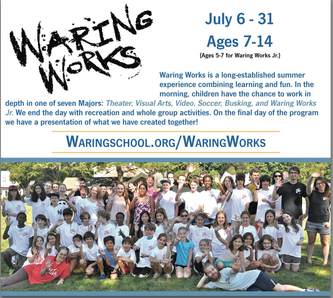 Waring Works April