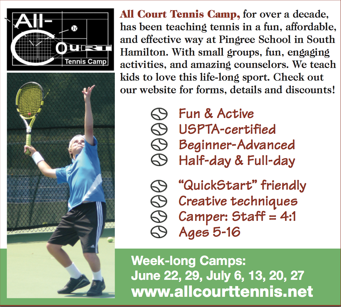 All Court Tennis Camp Ad
