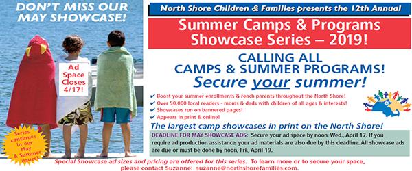 Camp Showcase Advertisement